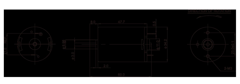 DC-Motor_RK-511SA_Outline-drawing