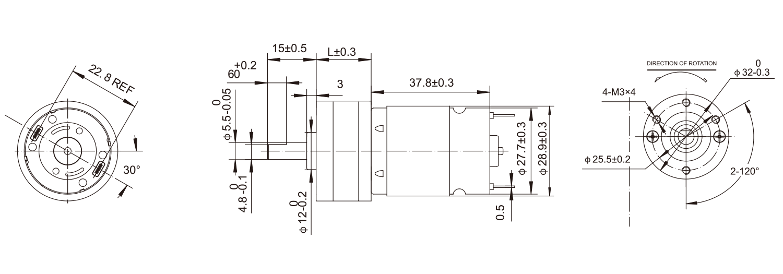 DC-Motor_32JZG3828_Outline-drawing