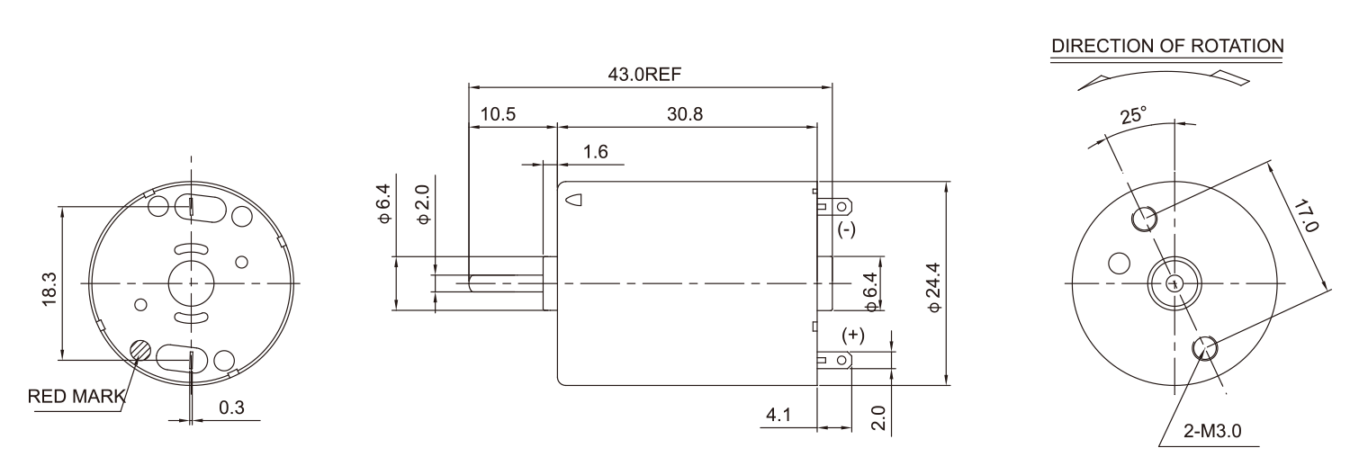 DC-Motor_RK-RF-370CH_Outline-drawing