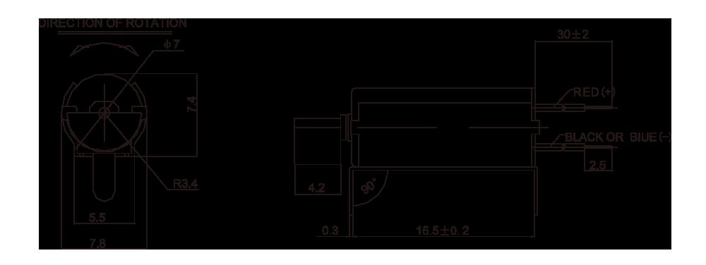 Coreless-DC-Motor_HS-716K-Z300-60090